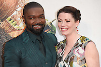"David and Jessica Oyelowo<br /> at the London Film Festival 2016 premiere of ""Queen of Katwe"" at the Odeon Leicester Square, London.<br /> <br /> <br /> ©Ash Knotek  D3168  09/10/2016"