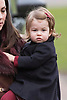 PRINCESS CHARLOTTE<br /> The daughter of the Duke and Duchess of Cambridge will be 2-years-old on the 2nd of May 2017.<br /> These images are a retrospective from birth to the present, showing the Princess on the rare public appearances.<br /> <br /> 25.12.2016; Englefield, UK: PRINCE GEORGE AND PRINCESS CHARLOTTE - 1ST XMAS SERVICE<br /> The Duke and Duchess of Cambridge took Prince George and Princess Charlotte to their first Christmas Day church service at St Mark&iacute;s Church, Englefield. <br /> While the rest of the royals attended church service at Sandringham.<br /> Mandatory Photo Credit: &copy;Francis Dias/NEWSPIX INTERNATIONAL<br /> <br /> IMMEDIATE CONFIRMATION OF USAGE REQUIRED:<br /> Newspix International, 31 Chinnery Hill, Bishop's Stortford, ENGLAND CM23 3PS<br /> Tel:+441279 324672  ; Fax: +441279656877<br /> Mobile:  07775681153<br /> e-mail: info@newspixinternational.co.uk<br /> Usage Implies Acceptance of Our Terms &amp; Conditions<br /> Please refer to usage terms. All Fees Payable To Newspix International
