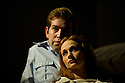 """London, UK. 11/01/2012. """"Lovesong"""", written by Abi Morgan and created by Frantic Assembly opens at the Lyric Hammersmith. Picture shows: Leanne Rowe (as Margaret) and Edward Bennett (as William). Photo credit: Jane Hobson"""