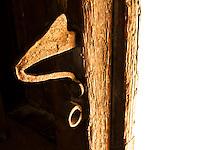 Botrugno (LE) - Salento - Particolare del Portone del Palazzo Marchesale Guarini