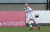 20180815 - Zulte , BELGIUM : OHL's Lotte Michiels pictured during a friendly pre season soccer match between the women teams of Zulte Waregem Dames and OHL Oud Heverlee Leuven Dames  , Wednesday 15 August 2018 . PHOTO DAVID CATRY | SPORTPIX.BE