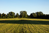 The Islamic Society of Greater Worcester is trying to buy this plot of land to create a Muslim cemetery in Dudley, Massachusetts, seen here on Tues., Aug 23, 2016. The nearest Muslim cemetery is in Enfield, Connecticut, and many of the group's relatives are buried there. The group is looking for a place closer to Worcester to bury their loved ones but has encountered substantial opposition from locals and town officials.