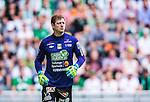 Stockholm 2014-05-24 Fotboll Superettan Hammarby IF - Varbergs BoIS FC  :  <br /> Varbergs m&aring;lvakt Joakim Wulff <br /> (Foto: Kenta J&ouml;nsson) Nyckelord:  Superettan Tele2 Arena HIF Bajen Varberg BoIS portr&auml;tt portrait