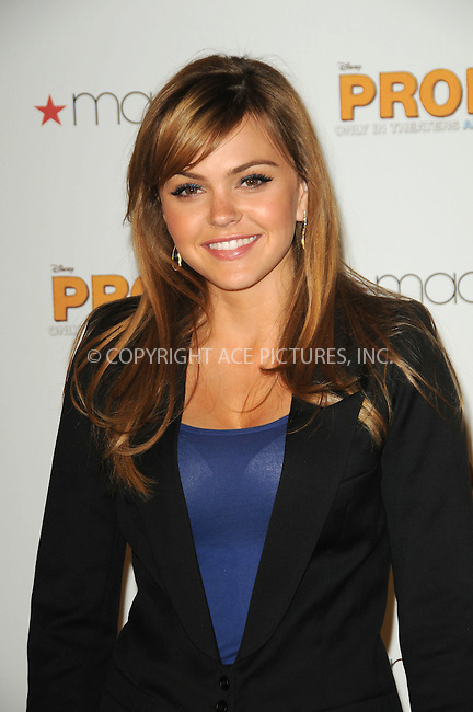 WWW.ACEPIXS.COM . . . . . ....April 22 2011, Los Angeles....Actress Aimee Teegarden from the cast of Walt Disney Pictures' 'Prom,' at Macy's at the Glendale Galleria on April 22, 2001 in Glendale, California....Please byline: PETER WEST - ACEPIXS.COM....Ace Pictures, Inc:  ..(212) 243-8787 or (646) 679 0430..e-mail: picturedesk@acepixs.com..web: http://www.acepixs.com