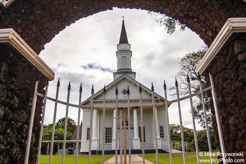 Hisrtoric church on Kauai