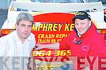 RALLY: Pat Cashman, Rathmore, and Johnny OSullivan, Killarney, at the Rally of the Lakes in Killarney last Friday evening..