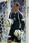 24 April 2004: Chicago goalkeeper Henry Ring during the first half. The Chicago Fire defeated DC United 1-0 at RFK Stadium in Washington, DC on opening day of the regular season in a Major League Soccer game..