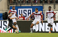 Jacksonville, FL - September 6, 2016: The U.S. Men's National team go up 1-0 over Trinidad & Tobago from a goal by Sacha Kljestan in first half action in a World Cup Qualifier (WCQ) match at EverBank Field.