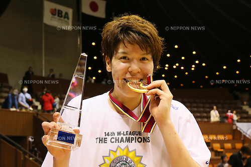 Ramu Tokashiki (Sunflowers), MARCH 19, 2013 - Basketball : The 14th Women's Japan Basketball League Playoffs Final Game #4 between Toyota Antelopes 61-72 JX Sunflowers at 2nd Yoyogi Gymnasium, Tokyo, Japan. (Photo by AFLO SPORT) [1156]