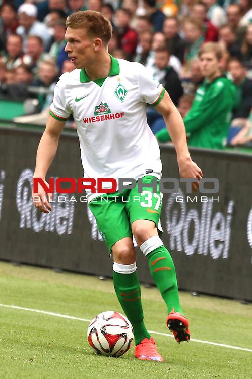 09.05.2015, HDI Arena, Hannover, GER, 1.FBL, Hannover 96 vs SV Werder Bremen im Bild <br /> <br /> Janek Sternberg (Bremen #37)<br /> <br /> Foto &copy; nordphoto / Rust