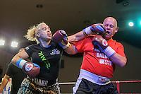 Stacy The Hammer Hayes Vs Simon Baldock Man Vs Woman Charity Fight