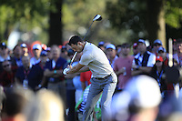 Martin Kaymer(Team Europe) on the 16th tee during Saturday afternoon Fourball at the Ryder Cup, Hazeltine National Golf Club, Chaska, Minnesota, USA.  01/10/2016<br /> Picture: Golffile | Fran Caffrey<br /> <br /> <br /> All photo usage must carry mandatory copyright credit (&copy; Golffile | Fran Caffrey)