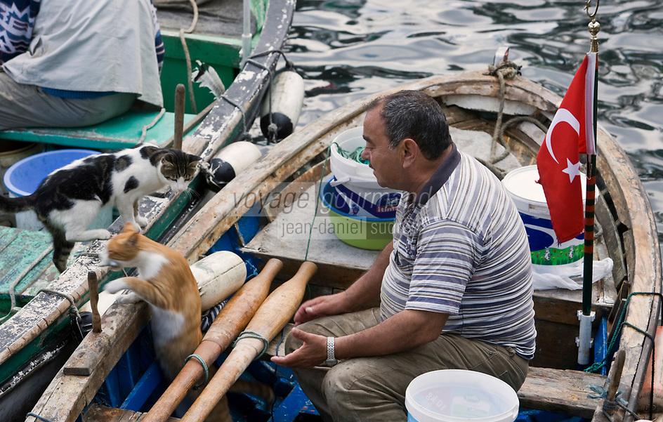 Europe/Turquie/Istanbul : Au port de Beylerbeyi rive orientale