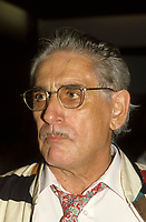 Montreal (Qc) CANADA - circa 1987- File Photo of Canadian Film maker Gilles Carle who passed aways November 28, 2009 at 80 after fighting Parkinson disease for the over 10 years