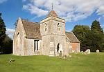 Church of Saint Nicholas, Berwick Bassett, Wiltshire, England, UK