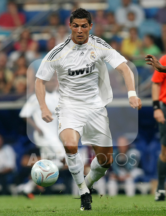 Real Madrid's Cristiano Ronaldo during Peace Cup match. July 26 200. (ALTERPHOTOS/Acero).
