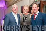 Listowel Military Tattoo: Attending the military tattoo weekend in Listowel on Sunday last were Sean Walsh, Katie Galvin & Johnny Stack, Chairman Moyvane GAA club.