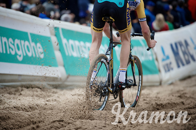 kicking' up some sand<br /> <br /> GP Zonhoven 2014