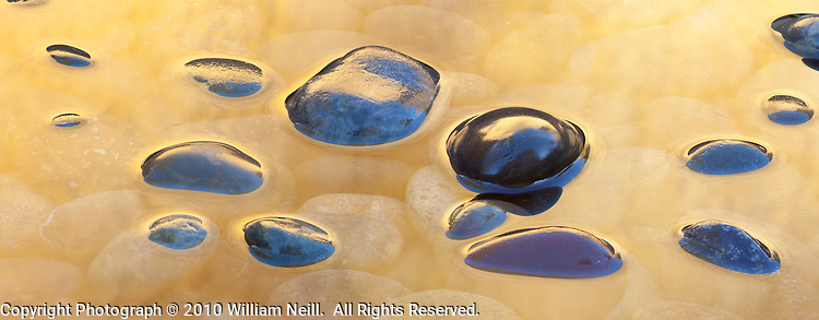 Stones and reflections, Ahwahnee, California  2010