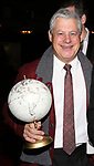 "Cameron Mackintosh during The Opening Night Actors' Equity Gypsy Robe Ceremony honoring Catherine Ricafort for the New Broadway Production of  ""Miss Saigon""  at the Broadway Theatre on March 23, 2017 in New York City"
