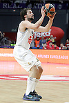 Real Madrid's Sergio LLull during Euroleague match. January 28,2016. (ALTERPHOTOS/Acero)