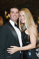 ***Vanessa Trump, the wife of Donald Trump Jr., was taken to a hospital on Monday after complaining of nausea when she was exposed to an unidentified white powder that came in the mail***<br /> FILE PHOTO: PALM BEACH, FL - 2009:  Donald Trump and Melania Knauss at the Mar-A-Lago Club in 2009 in Palm Beach, Florida.<br /> People:  Donald and Vanessa Trump<br /> CAP/MPI22<br /> &copy;MPI22/Capital Pictures