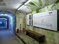 Bunkermuseum Oberland, Insel Helgoland, Schleswig-Holstein, Deutschland, Europa<br /> Bunkermuseum Oberland, Helgoland island, district Pinneberg, Schleswig-Holstein, Germany, Europe