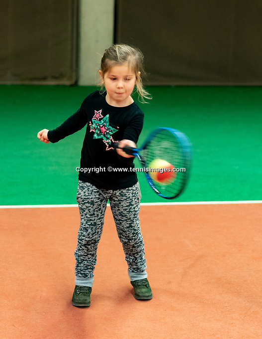 Alphen aan den Rijn, Netherlands, December 16, 2018, Tennispark Nieuwe Sloot, Ned. Loterij NK Tennis, Kids playground<br /> Photo: Tennisimages/Henk Koster