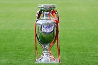 KIEV, UCRANIA, 01 JULHO 2012 - EU2012 FINAL - ESPANHA X ITALIA - Trofeu antes da decisão da Euro 2012 entre Espanha e Itália, em Kiev, Ucrânia, neste domingo (01).  (FOTO: PIXATHLON / BRAZIL PHOTO PRESS).