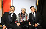 Fashion Muse - Iris Apfel with runway escorts - Celebrity Fashion Stylist Felix Mercado's Fashion Nght Out Runway Show and After Party was held on September 6, 2012 at Loehmann's, New York City, New York with celebrities Jordana Brewster (As The World Turns, Dallas and Fast and the Furious), Lisa Vanderpump (The Real Housewives of Beverly Hills with husband Ken Todd and doggie Giggy (Gigolo) and Iris Apfel (fashion muse).  (Photo by Sue Coflin/Max Photos)