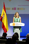 "Ainhoa Arteta during the 6th edition of the collecting badges to the new ambassadors fees ""Marca España"" in his 6th edition at BBVA City in Madrid, November 12, 2015.<br /> (ALTERPHOTOS/BorjaB.Hojas)"