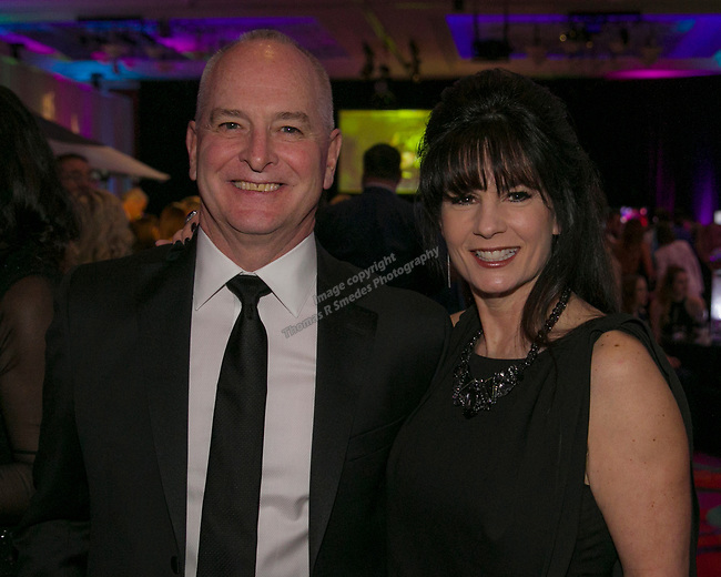 Bill ans Liza Bradley during the 10th Annual Blue Tie Ball at the Peppermill Resort Spa Casino in Reno, NV on Friday night, Feb. 1, 2019.