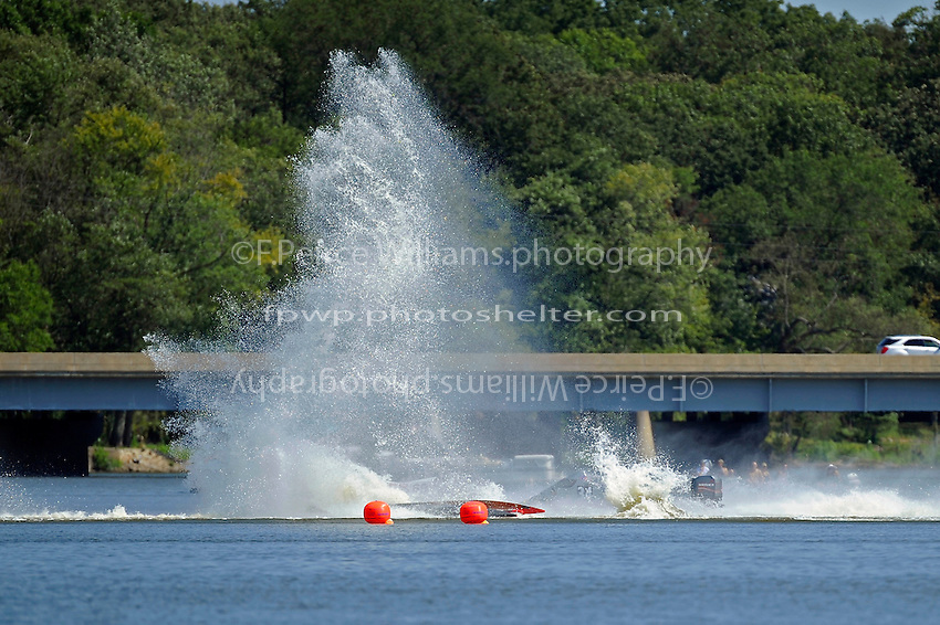 Frame 11: Dan Orchard, (#97) spins and rolls over in the East Turn. (SST-120 class)