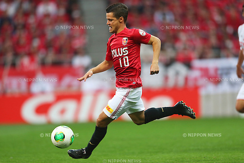 Marcio Richardes (Reds), .March 9, 2013 - Football / Soccer : .2013 J.LEAGUE Division 1, 2nd Sec .match between Urawa Reds 1-0 Nagoya Grampus .at Saitama Stadium 2002, Saitamai, Japan. .(Photo by Daiju Kitamura/AFLO SPORT) [1045]