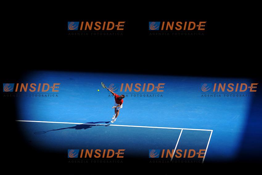 Richard Gasquet (FRA) .Melbourne 21/1/2013.Tennis Australian Open.Foto Virginie Bouyer / Sportmag / Panoramic / Insidefoto.ITALY ONLY