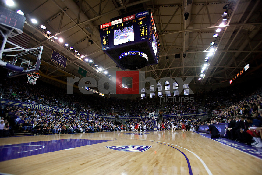 The University of Washington Huskies men's basketball team defeated the University of Arizona Wildcats 79-70 at Alaska Airlines Arena on the campus of the University of Washington in Seattle on Saturday February 18, 2012 (Photo by Scott Eklund/Red Box Pictures)