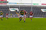Kerry's Darren Dineen and Niall O'Brien of Westmeath in the Allianz Hurling League Division 2A Final, Westmeath v Kerry. Gaelic Grounds, Limerick, Saturday 4th April 2015.