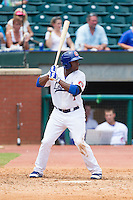 O'Koyea Dickson (7) of the Chattanooga Lookouts at bat against the Montgomery Biscuits at AT&T Field on July 23, 2014 in Chattanooga, Tennessee.  The Lookouts defeated the Biscuits 6-5. (Brian Westerholt/Four Seam Images)