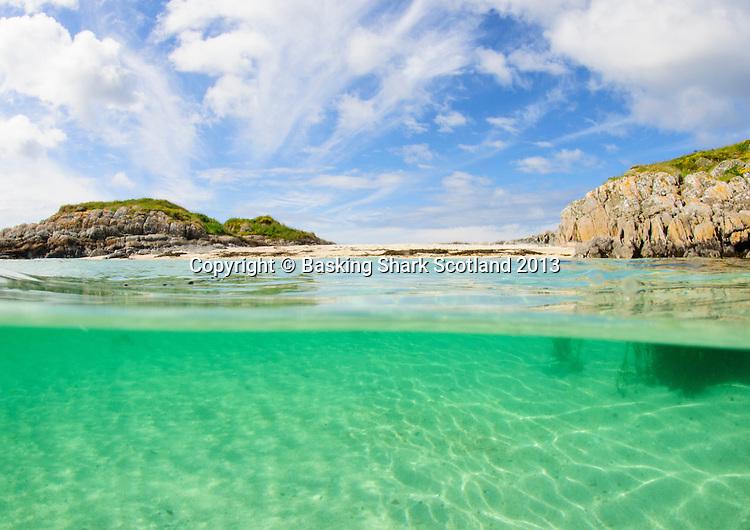 Clear Hebridean water