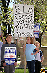 Children participate in a rally outside the Legislative Building in Carson City, Nev., on Tuesday, March 31, 2015. <br /> Photo by Cathleen Allison