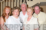 At Jimmy Deenihans victory celebrations in the Listowel Arms Hotel on Friday night. Front: Georgina and Lillie Barrett, at the back from left, Monica Kelliher, Michael Barrett and John Kelliher (all from Listowel)..