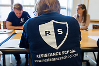 Resistance School - Michael Blake - Harvard University Kennedy School - Cambridge, MA - 27 April 201