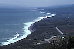 Coastline along Cabot Trail, Cape Breton, Nova Scotia, Canada
