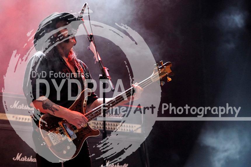 Ian 'Lemmy' Kilmister von Motoerhead live auf dem 20. Wacken Open Air Festival - W:O:A 2011. Wacken, 01.08.2009