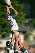 S. Savea goes high in a lineout. Counties Manukau Premier Club Rugby, Pukekohe v Manurewa  played at the Colin Lawrie field, on the 17th of April 2006. Manurewa won 20 - 18.