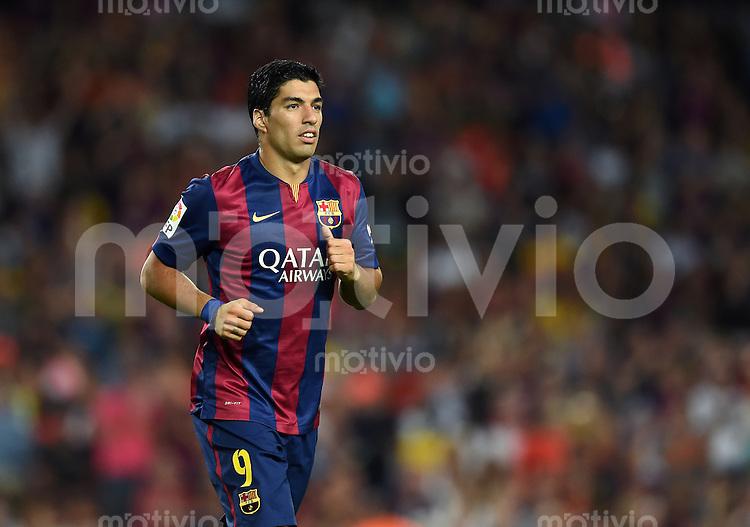 FUSSBALL  INTERNATIONAL   SAISON 2011/2012   18.08.2014 Gamper Cup 2014 FC Barcelona - Leon FC Luis Suarez (Barca)