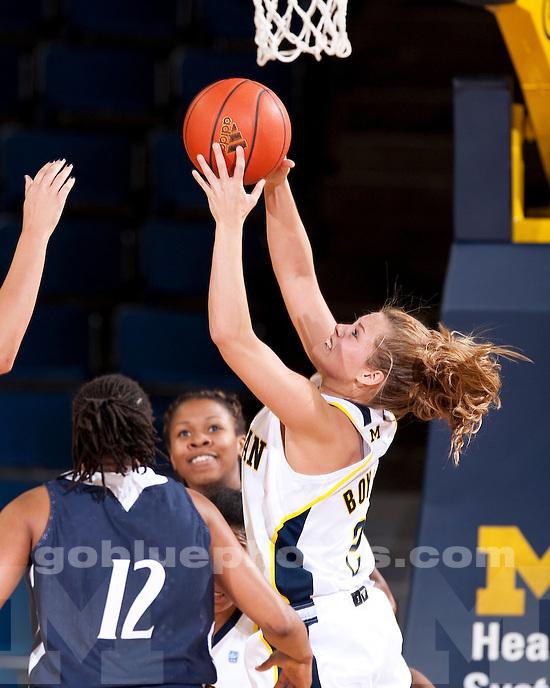 University of Michigan women's basketball 81-63 loss to Penn State at Crisler Arena in Ann Arbor, MI, on February 3, 2011.