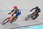 September 19, 2015 - Colorado Springs, Colorado, U.S. - Mars Hill University's, John Croom, in men's scratch race action during the USA Cycling Collegiate Track National Championships, United States Olympic Training Center Velodrome, Colorado Springs, Colorado.