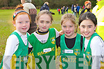 Aoife Kerins, Clodagh Enright, Katelyn Reid and Jane Lawlor An Roicht who ran in the Kerry Cross Country finals in Killarney on Sunday..