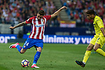 Jose Maria Gimenez of Atletico de Madrid during the match of La Liga between Atletico de Madrid and Villarreal at Vicente Calderon  Stadium  in Madrid, Spain. April 25, 2017. (ALTERPHOTOS/Rodrigo Jimenez)